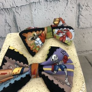 Accessories - Hair bow day of the dead